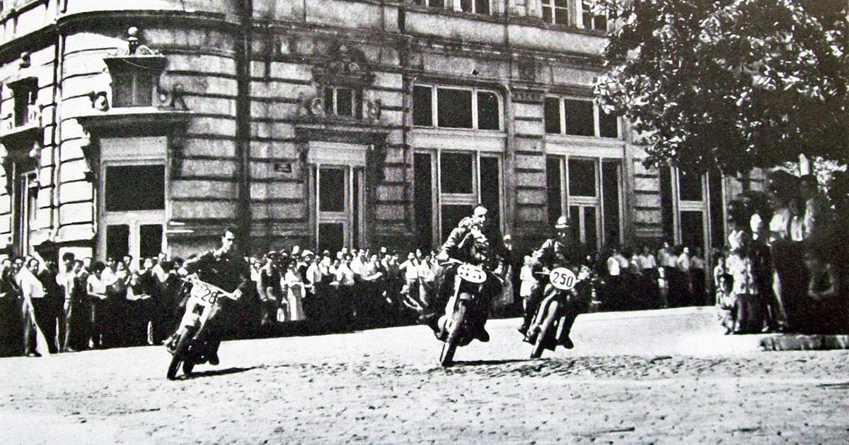 Мотоциклетният спорт в спомените на Стефан Миланов