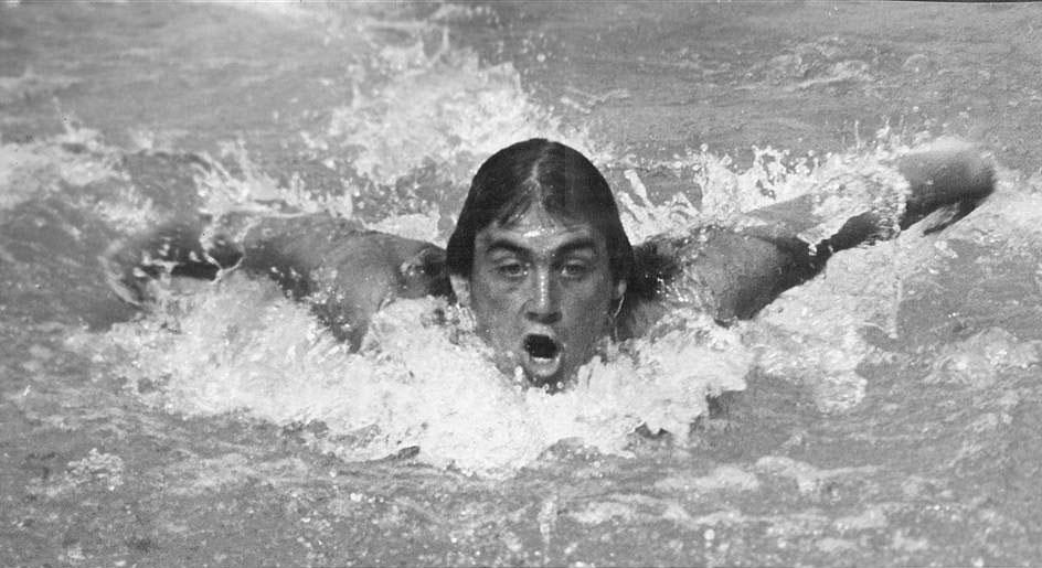 Работническа спартакиада - плуване мъже