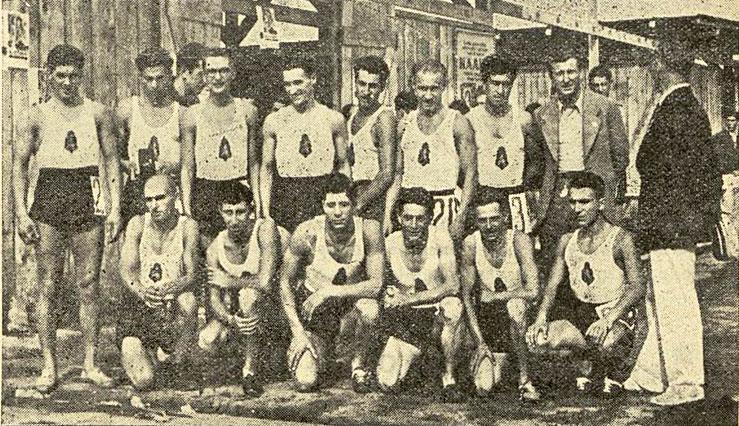 Националният отбор по лека атлетика