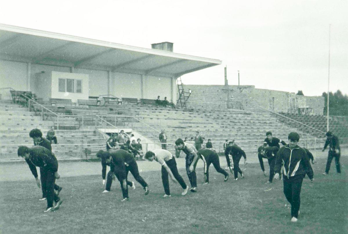 "Тренировка на стадион ""Дунав"""