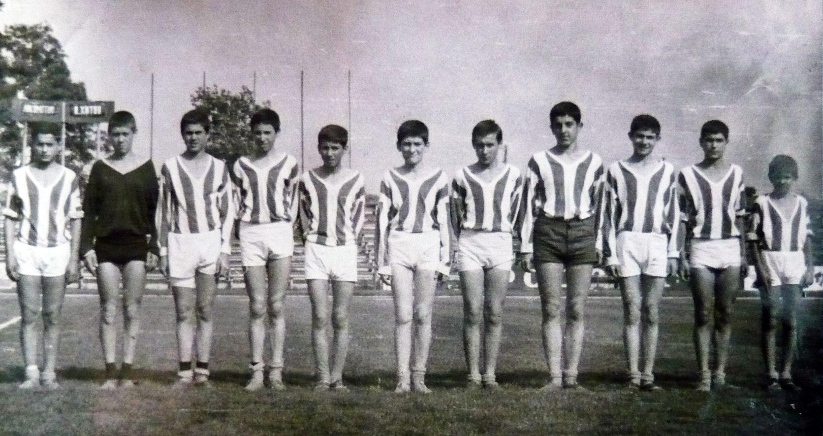 Юношите на Локо (Русе) през 1965 г.