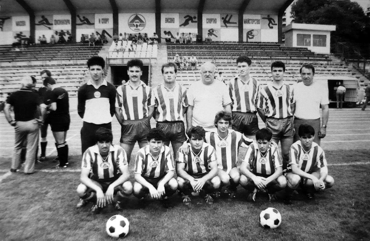 Юношите на Локо (Русе) през 1989 г.