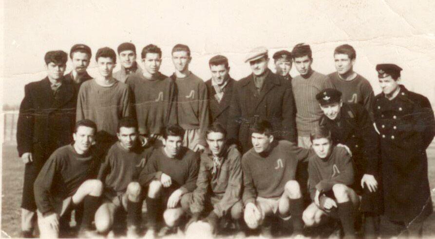 Юношите на Локо (Русе) през 1958 г.