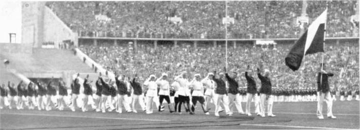Русенецът Нено Мирчев на Олимпиоадата през 1936