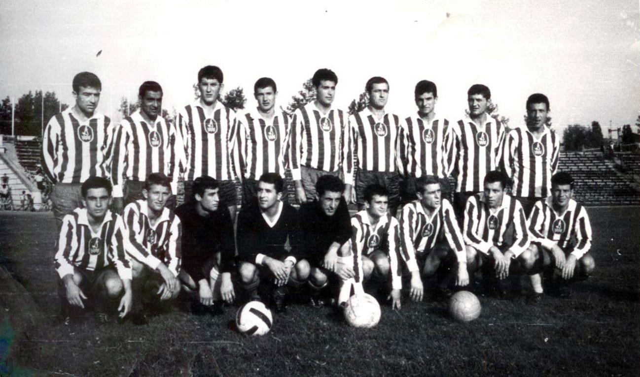 Дунав през сезон 1966/67