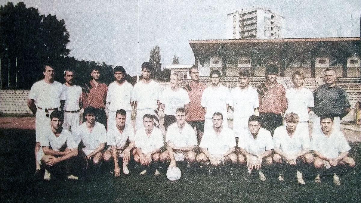 ФК Корабостроител (Русе) през 1995 г.