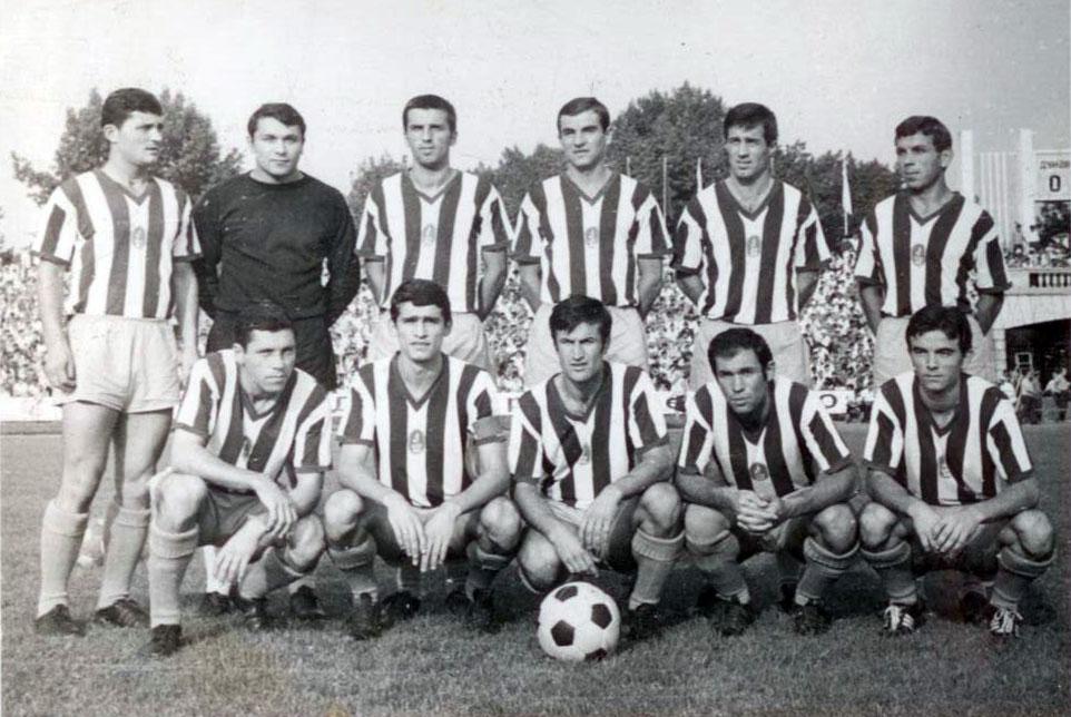 Дунав през сезон 1969/70