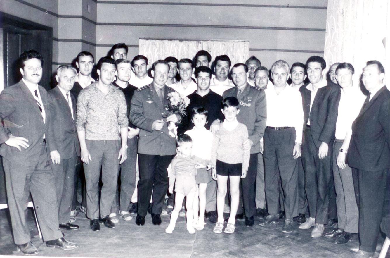 Дунав и съветските космонавти
